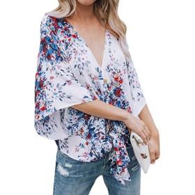 女性 トップス、三番目の店 レディース バンデージ ファッション ブラウス プリント Tシャツ ブラウス トップス