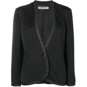 Yves Saint Laurent Pre-Owned ノーカラー ジャケット - ブラック
