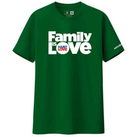ABS-CBN Family Is Love T-Shirt (Green, M)