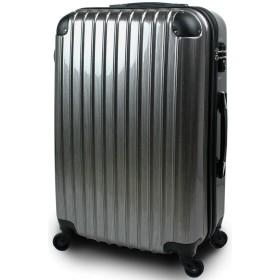 【SUCCESS サクセス】 スーツケース キャリーバッグ 3サイズ(大型 Lサイズ/中型 Mサイズ/小型 Sサイズ)TSA搭載 FS3000PC 超軽量 ファスナーモデル (小型 Sサイズ 1~3泊用, プレミアムアルミヘアライン)