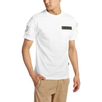 [アビレックス] Tシャツ 6123036 メンズ WHITE 日本 L-(日本サイズL相当)