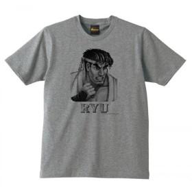 dune ストリートファイターⅡ 【リュウ】 Tシャツ グレー (S)