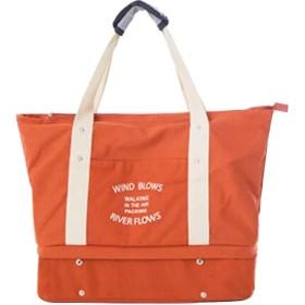 旅行バック大容量トートバッグ キャンバス 多機能旅行 軽量 靴まで収納 帆布トートバッグ ジムバッグレディース マザーズバッグインナーポチ付き