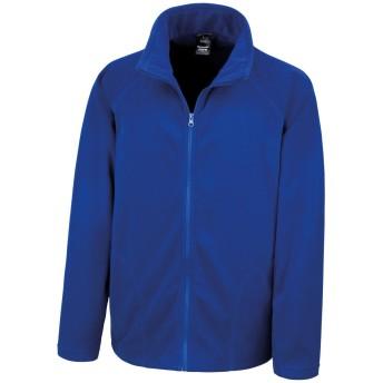 (リゾルト) Result コア メンズ Micron 抗ピル フルジップ フリースジャケット アウター オーバー ジャンパー 冬 防寒 (S) (ロイヤルブルー)