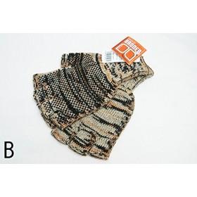 BRONER(ブローナー) / Camo Knit Fingerless Glove (B)