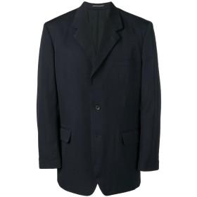 Yohji Yamamoto オーバーサイズ ジャケット - ブルー