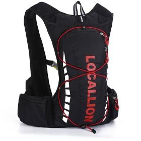 ハイキングバックパック アウトドア10L 撥水加工 リュック トレッキング サイクリング 防災 登山 旅行