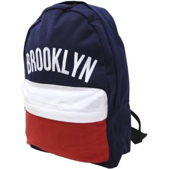 (ブルックリン)BROOKLYN ロゴ柄リュック(デイバッグ リュックサック) トリコ
