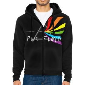 衛の衣長袖ジャケット帽子を含むポケットレジャーファッション秋の冬男の人プリント Pink Floyd ピンクフロイド M