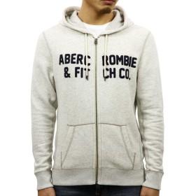 [アバクロ] Abercrombie&Fitch 正規品 メンズ ジップアップパーカー GRAPHIC FULL-ZIP HOODIE 122-232-0772-112 S 並行輸入品 (コード:4119370202-2)