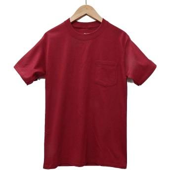 (ヘインズ) HANES BEEFY TEE POCKET ヘインズ メンズ ポケットTシャツ 5190p ビーフィー [並行輸入品] (L, カーディナル)