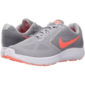 (ナイキ) NIKE レディースランニングシューズ・スニーカー・靴 Revolution 3 Wolf Grey/Cool Grey/Atomic Pink/Hyper Orange 5 (22cm) D - Wide