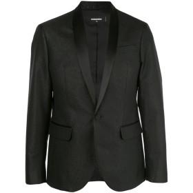 Dsquared2 サテンラペル ジャケット - ブラック