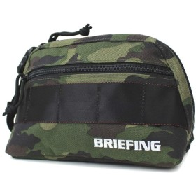BRIEFING ブリーフィング ラウンドポーチ GOLF ゴルフ B SERIES ROUND POUCH BG1732401 グリーンカモ