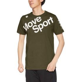 [デサント] デオダッシュ コットンTシャツ 高速消臭 MOVESPORT DMMNJA53 KH L