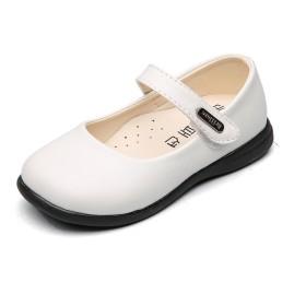[Banlan] 子供靴 フォーマル 子供フォーマル靴 ワンストラップフォーマルシューズ 子供靴 女の子 キッズ シューズ 発表会 結婚式 卒業式 入学式 (20.2cm, ホワイト)