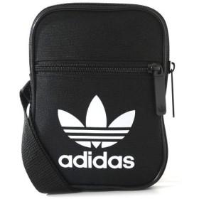 adidas Originals(アディダス オリジナルス) 2WAY ショルダーバッグ メンズ レディース FESTIVAL BAG TREFOIL Free ブラック nqb30-BK6730