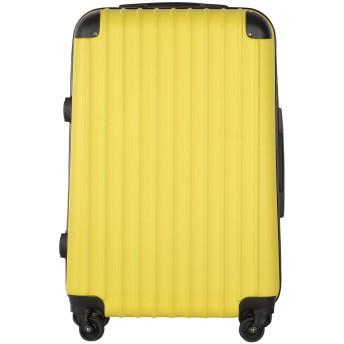 【SPEED】スーツケース キャリーケース ダイヤロック式 超軽量 ファスナー ABS 静音キャスター おしゃれ かわいい 修学 旅行 出張 など人気バッグ 多色選択可能 (Sサイズ(20寸)機内持ち込み, イエロー)