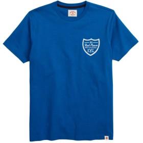 Brooks Brothers(ブルックス ブラザーズ) Red Fleece コットンジャージー NYC グラフィックTシャツ 32718232 ブルー M