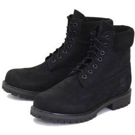 [ティンバーランド] ICON A1M3K 6in Premium Boot Jet Black Vecchio TB046 US8-約26.0cm