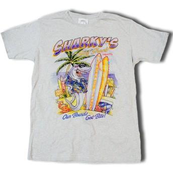 サーファーTシャツ 【シャーキーズ】ワイルドサーファーのニューブランドdownlordTシャツ (Lアメリカンサイズ 身幅57 肩幅50 着丈73 袖丈22(cm))