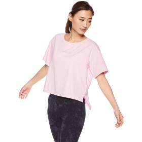 [ダンスキン] フィットネスウェア ALPHADRYクロップTシャツ [レディース] DB79115 フェアリーピンク (FP) 日本 M (日本サイズM相当)