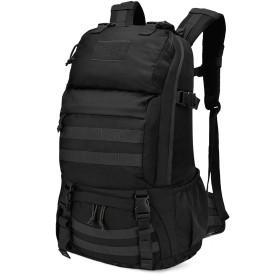 Mardingtop 40L ミリタリー リュック 大容量 タクティカル バックパック 軽量 鞄 MOLLE 対応 軍用 リュックサック 登山 キャンプ トレッキング 旅行