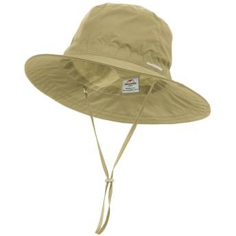 TRIWONDER 帽子 バケットハット 防水 UVカット サンハット ホライズンハット ゴアテックスハット メンズ レディース (カーキ)