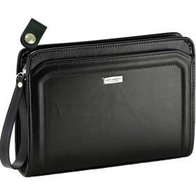 日本豊岡製 セカンドバック クラッチバッグ B5書類対応 と [牛革製ケーブルホルダー]のセット 匠(タクミ)鞄工房 ng801