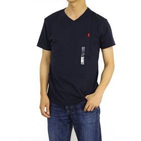 (ポロ ラルフローレン) POLO Ralph Lauren メンズ 無地 Vネック Tシャツ ワンポイント0107191 [並行輸入品]