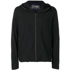 Herno フーデッド レインジャケット - ブラック