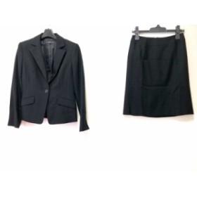 インディビ INDIVI スカートスーツ サイズ38 M レディース 美品 黒【中古】20190713