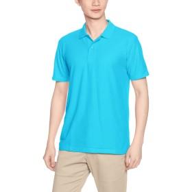 [プリントスター] 半袖 4.9オンス TC 鹿の子 カジュアル ポロシャツ 00193-CP メンズ ターコイズ LL (日本サイズLL相当)