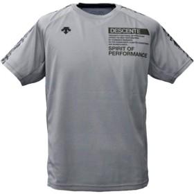 デサント Tシャツ メンズ 上 DESCENTE 半袖 ドライ バレーボール 吸汗速乾 バックプリント Oサイズ