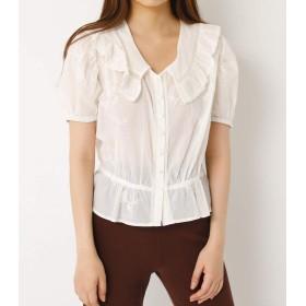 [スライ] tシャツ SOFT LACE TOPS 030BAK30-3260 S ホワイト レディーズ