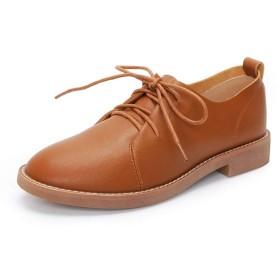 おじ靴 オックスフォードシューズ レースアップ 歩きやすい オックスフォード 厚底 レースアップシューズ マニッシュ おじ靴 ブラック 黒 ローファー マニッシュシューズ ローヒール 大きいサイズ 25cm カジュアル 春秋