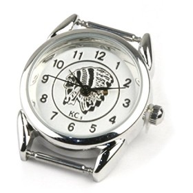 KC,s オリジナル レディース文字盤 【インディアン白文字盤】 : ホワイト 新品 日本製 単品 小さい クォーツ ムーブメント ケーシーズ ケイシイズ 女性用 時計 交換パーツ 取り換え