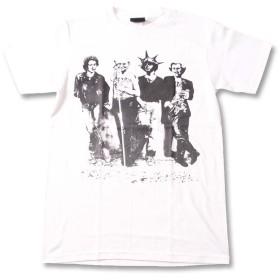 (ファーストライン) FIRST-LINE (W) クラス CRASS 1 WHT S/S 半袖 Tシャツ メンズ レディース M ホワイト