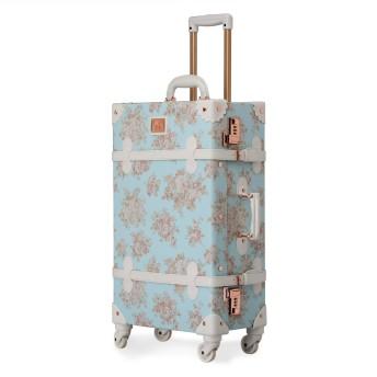 スーツケース 軽量 キャリーケース 復古主義 トランク【2年間修理保証】静音四輪 旅行 キャリーバッグ 小型 機内持込可