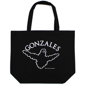 (マークゴンザレス) Mark Gonzales CLOUD ANGELトートバッグ (ブラック)