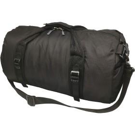 [FUPUTWO] ボストンバッグ 折りたたみ 大容量 コンパクト ジム 出張 旅行 キャンプ 軽量 (小, ブラック)