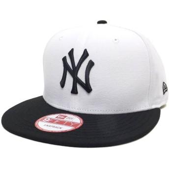 (ニューエラ)New Era スナップバックキャップ NY ヤンキース 白/黒 11308463 ホワイト/ブラック 9FIFTY MLB NEW YORK YANKEES