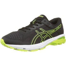 Asics GT-1000 6 Mens Running Trainers T7A4N Sneakers Shoes (uk 8 us 9 eu 42.5, black safety yellow black 9007)
