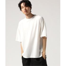 【60%OFF】 ジャーナルスタンダード 60/2 ドライ Vintage Jersey Tシャツ メンズ ホワイト S 【JOURNAL STANDARD】 【セール開催中】
