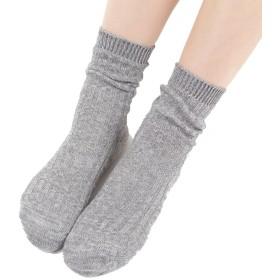 冷えとり 靴下 4枚履き かさねる socks グレー