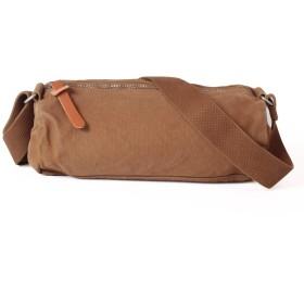 (Camel)Butler Verner Sails バトラーバーナーセイルズ キャンバスミニロールショルダーバッグ メンズ レディース かばん 鞄