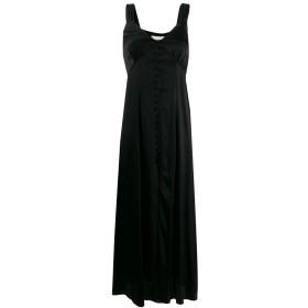 Semicouture フロントボタン ドレス - ブラック