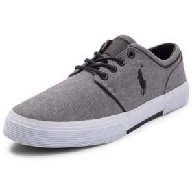 (ポロラルフローレン) Polo Ralph Lauren 靴・シューズ メンズカジュアルシューズ Mens Faxon Casual Shoe by Polo Ralph Lauren Gray Gray US 9.5 (27.5cm)