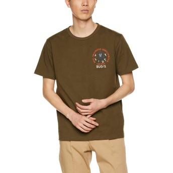 [アヴィレックス] Tシャツ EMB TEE SEAL 6193344 メンズ 75OLIVE 日本 M (日本サイズM相当)