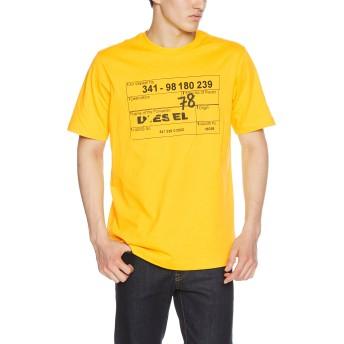 (ディーゼル) DIESEL メンズ Tシャツ 00SHYM0CATM S イエロー 23D
